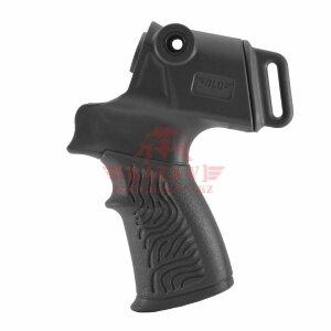 Пистолетная рукоятка на Mossberg 500/590, Maverick 88 с креплением для ремня DLG Tactical (DLG-118 Black)