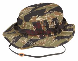 Панама армейская TRU-SPEC Military Boonie 100% Cotton Rip-Stop (Vietnam Tiger Stripe)
