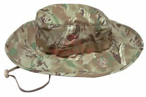 Панама армейская TRU-SPEC Wide Brim Boonie 50/50 NyCo Rip-Stop (Tiger Stripe Multicam)