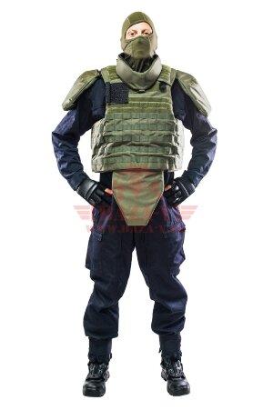 Комплект бронезащиты C.P.E.® TAC PRO-QR SET (Класс защиты NIJ III-A с возможностью установки дополнительных бронеплит) (Olive)