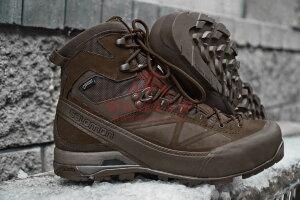 Зимние мембранные тактические ботинки Salomon X ALP GTX Forces (Slate Black)