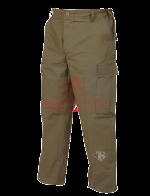 Брюки TRU-SPEC Classic BDU Pants 100% Cotton Ripstop Big Size (Olive drab)