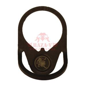 Фиксатор телескопического приклада стальное кольцо с креплением под ремень «ДУГА» HARTMAN