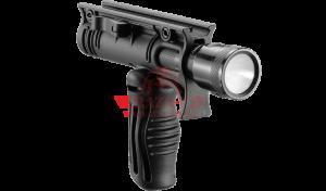 """Двухпозиционная тактическая рукоять FAB-Defense FFA-T4 с креплением для фонаря 1"""""""