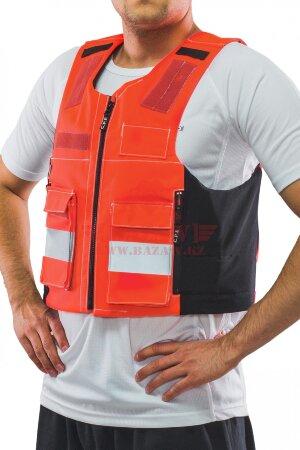 Бронежилет скрытого ношения C.P.E.® на ZIP-молнии с карманами (Класс защиты NIJ III-A)