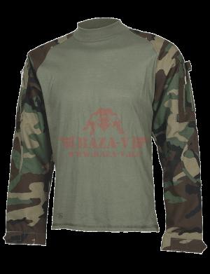 Тактическая рубашка TRU-SPEC TRU® Combat Shirt 50/50 Cordura® NyCo Ripstop (Woodland)
