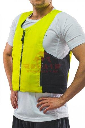 Бронежилет скрытого ношения C.P.E.® на ZIP-молнии (Класс защиты NIJ III-A) (Yellow)