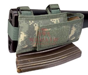 Подсумок на приклад под 1 магазин M16A2 J-Tech® Stock Magazine Pouch With M16A2 Fixed Stock (Olive drab)