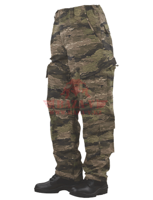 Брюки тактической формы TRU-SPEC TRU® Pants A-TACS 50/50 Cordura® NyCo Ripstop (A-TACS iX)