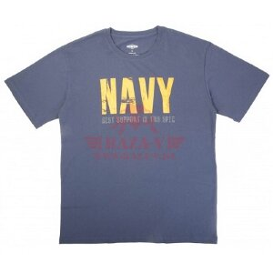 Милитари футболка TRU-Spec NAVY 100% Cotton (Navy)