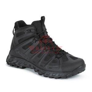 Тактические мембранные ботинки для спецназа AKU Selvatica Tactical MID GTX (Black)