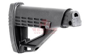 Приклад на Remington 870, Mossberg 500/590, MP155/135/153/133 TBS Solid DLG Tactical (DLG083) (Black)
