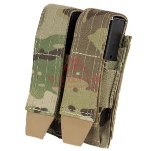 Подсумок под 2 пистолетных магазина Condor MA23: Double Pistol Mag Pouch (MultiCam)