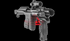 Конверсионная система FAB-Defense KPOS для Glock/Sig Sauer