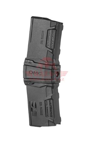 Стяжка для 2 магазинов AR-15/M4/M16 на 10 патронов FAB-Defense OMC KIT с 2 магазинами Ultimag 10R
