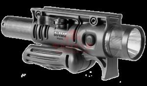 """Тактическая рукоять FAB-Defense FFA с креплением для фонаря 1"""""""