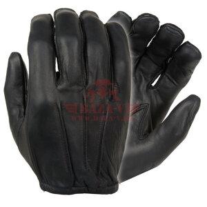 Перчатки кожаные Damascus Gear™ D20P Dyna-Thin для стрелков (Black)