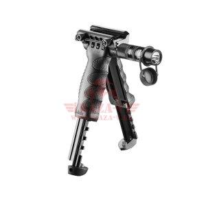Тактическая рукоять-сошка FAB Defense T-POD G2 SL (со встроенным фонарем)