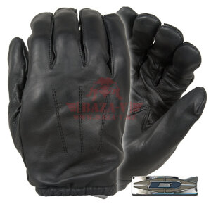 Перчатки кожаные Damascus Gear™ DFK300 Frisker K™ с покрытием Kevlar (Black)