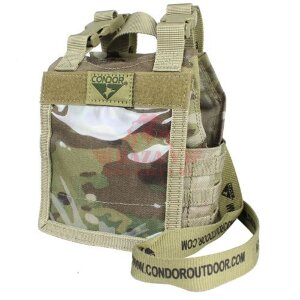 "Подсумок для ID-карт ""мини-жилет"" Condor 245: Mini Exo Plate Carrier ID Panel (MultiCam)"