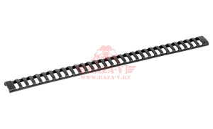 Накладка на Picatinny, 31 слот DLG Tactical Ladder Rail Cover (DLG077) (Black)