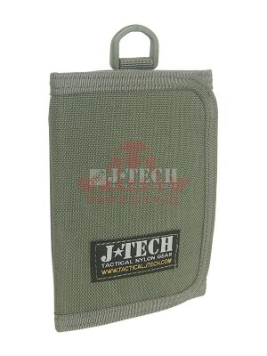 Портмоне J-Tech® Farer-14 Identification Wallet (Olive drab)