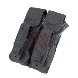 """Подсумок """"Кенгуру"""" под 2 магазина АК и 2 пистолетных магазина Condor MA71: Double AK Kangaroo Pouch (Black)"""