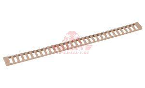 Накладка на Picatinny, 31 слот DLG Tactical Ladder Rail Cover (DLG077) (Sand)