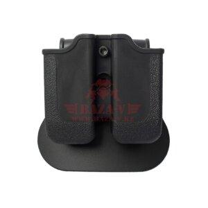 Полимерный пенал под 2 магазина Glock IMI-Z2000 (MP00) (Black)
