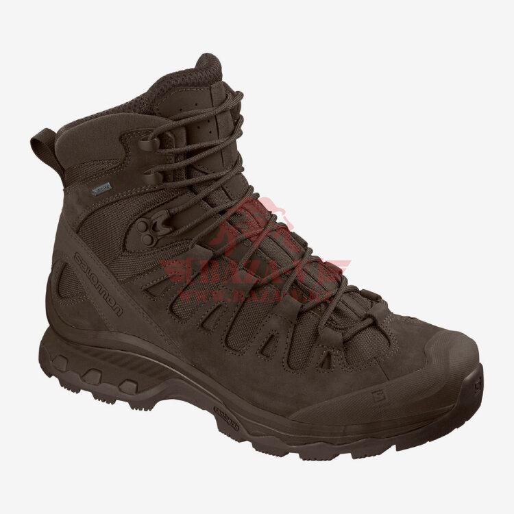 Тактические ботинки, стойкая к проколам подошва Salomon Quest 4D GTX Forces 2 EN (Slate Black)