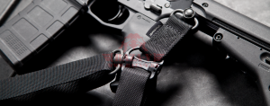 Адаптер-переходник для оружейного ремня с двухточечного на одноточечный режим Magpul® MS1® MS4® Adapter MAG519 (Black)