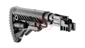 Приклад телескопический для АК-47/74 FAB-Defense SBT-K47 FK (Black)