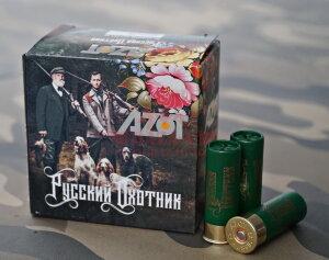 Патрон охотничий Azot «Русский Охотник» 12/70, дробь №3, б/к, 32г