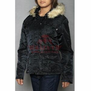 Куртка женская Alpha Industries ABBY (Black)