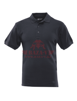 Мужское поло TRU-SPEC Men's 24-7 SERIES® Classic Polo 100% Cotton (Black)