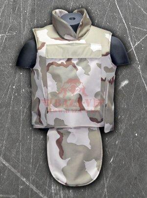 Бронежилет тактический военный Compass™ (BPJ-T01) (Класс защиты NIJ II-A, II, III-A с возможностью установки дополнительных бронеплит) (Woodland)