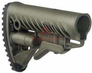 Приклад FAB-Defense GLR-16 для AR15/M16 (Olive Green)
