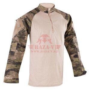 Тактическая рубашка TRU-SPEC TRU® 1/4 Zip Combat Shirt (A-TACS) 50/50 Cordura® NyCo Ripstop (A-TACS iX)