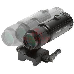 Увеличитель для прицелов Sightmark SM19064 T-5 Magnifier with LQD Flip to Side Mount