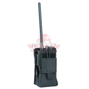 Укороченный подсумок для рации, универсальный Winforce™ Short Radio MOLLE Pouch (Black)