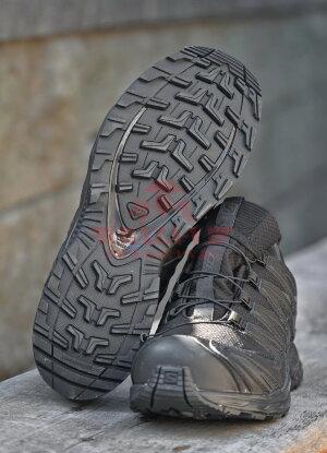 Тактические мембранные кроссовки Salomon XA PRO 3D GTX Forces (Black)