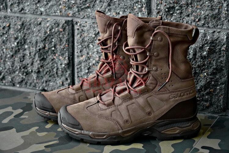 Легкие тактические ботинки Salomon Forces JUNGLE ULTRA (Brown)
