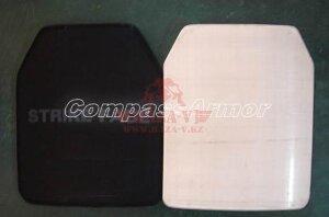 Полиэтиленовая бронеплита Compass™ (Класс защиты NIJ III-A) (Black)