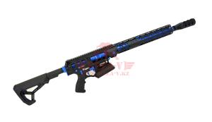 """Гладкоствольное ружье для IPSC Tigris XR12 Pro, 12х76, 16"""" в кейсе (Black/Blue)"""
