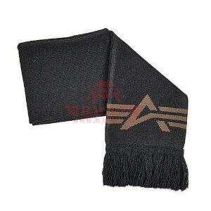 Шарф с логотипом Alpha Industries (Black)
