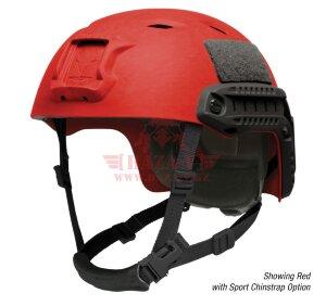 Шлем поликарбонатный OPS-CORE FAST BUMP High Cut Helmet (Red)