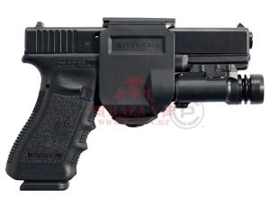 Пистолетная клипса Crye Precision Gunclip для Glock 17/19, правосторонняя (Black)