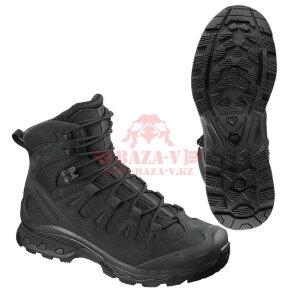 Тактические ботинки, стойкая к проколам подошва Salomon Quest 4D Forces 2 EN (Black)