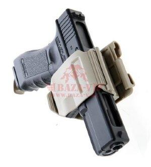 Пистолетная клипса Crye Precision Gunclip для Glock 17/19, правосторонняя (TAN)