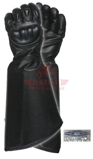 Перчатки кожаные Damascus Gear™ CRT300 Vector 3™ с защитой от гемоконтактных патогенов (Black)